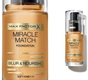 MAX FACTOR. Base Líquida Miracle Match