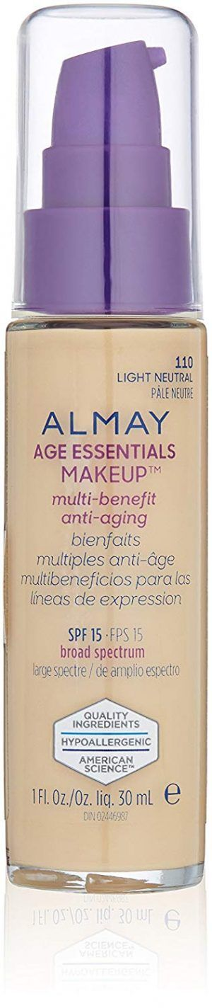 ALMAY. Base Líquida Age Essentials