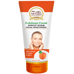 NEVADA. Exfoliante Facial Con Extracto de Durazno