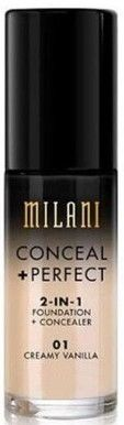 MILANI. Base de maquillaje Conceal+Perfect 2-en-1
