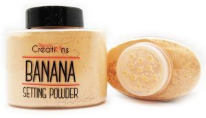 BEAUTY CREATIONS. POLVO BANANA SETTING
