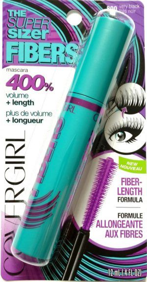 COVERGIRL. The Super Sizer FIBERS Máscara
