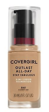 COVERGIRL. Base Líquida Outlast Stay Fabulous 3 en 1