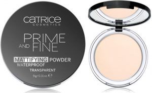 CATRICE. POLVO COMPACTO PRIME AND FINE MATTIFYING WATERPROOF – 010
